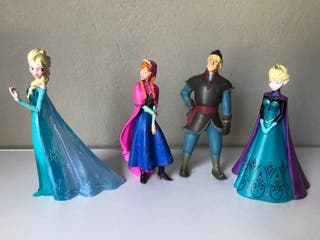 figura pvc Frozen Elsa, Anna, Kristoff Bullyland