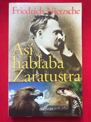 Así hablaba Zaratustra. Nietzsche