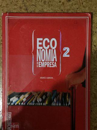 Libro de economía 2 de bachillerato