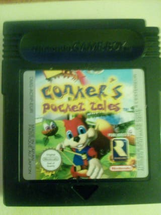 CONKER' S POCKET TALES GAME BOY