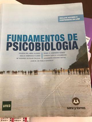 Se vende libro de psicobiologia uned