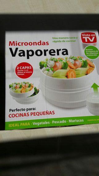 vaporera microondas