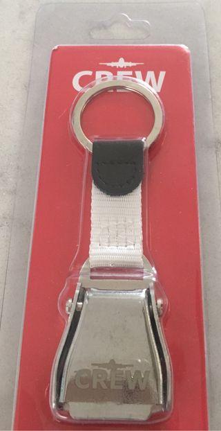 Llavero CREW con cinturón de seguridad