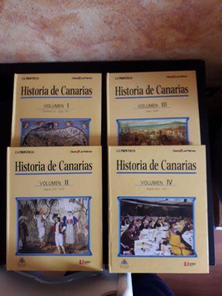 Libros de Historia de Canarias.