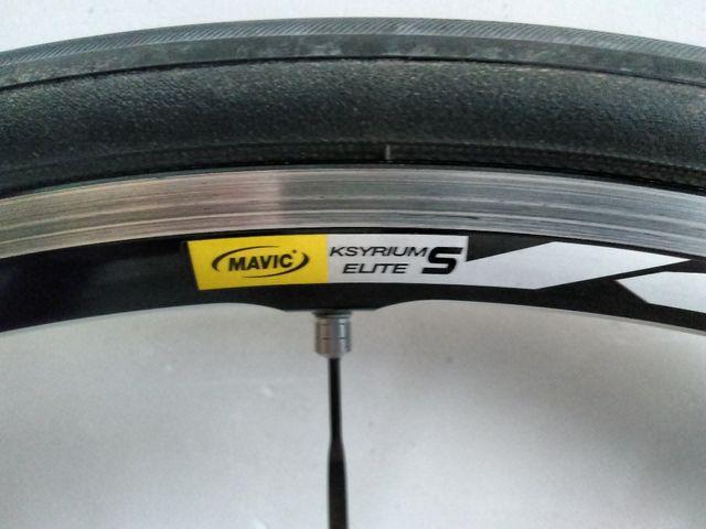 Vendo ruedas Mavic Ksirium Elite S