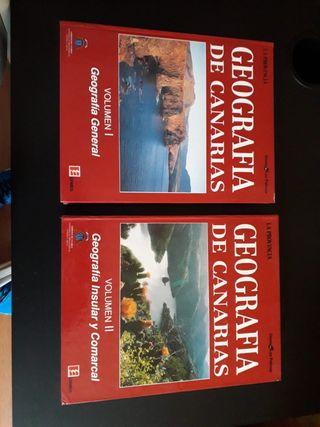 Libros Geografía de Canarias.