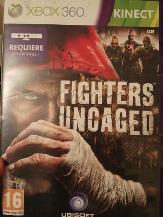 Fighter Uncaged + Fifa 12 xbox 360