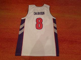 camiseta basket RAPTORS CALDERON talla m champion