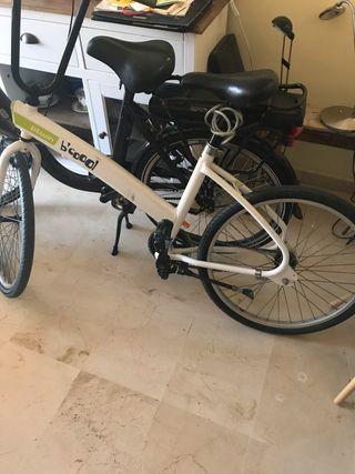 Bicicleta bitwin paseo