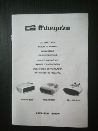 Calefactor Orbegozo Fh5009