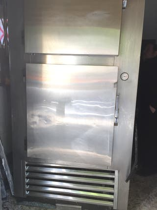 Cámara industrial frigorífica