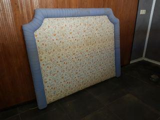 Cabecero tapizado 135 cms