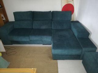 chaise long derecha con pouf