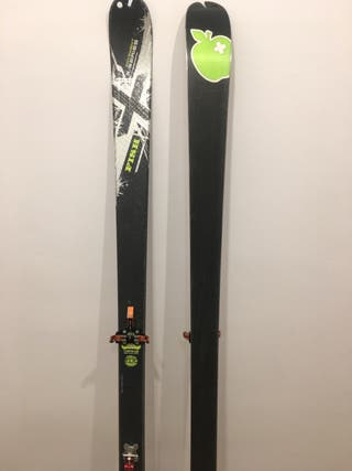 Esquís movement fish + Fijacion Atk race