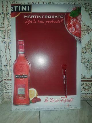 cartel chapa Martini