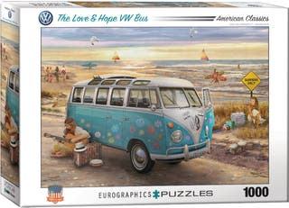 6000-5310 Puzzle Eurographics Love & Hope VW Bus