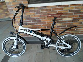 Bicicleta plegable eléctrica Cityboard Tourneo 48v