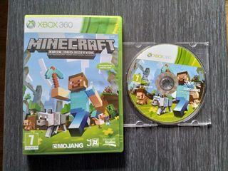 Vendo Minecraft para Xbox 360