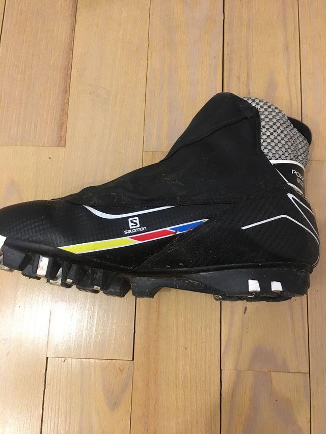Botas esquí de fondo/Rollerski Salomon