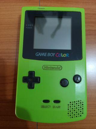 Gameboy Color verde piezas