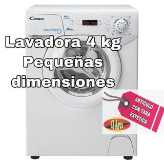 Lavadora 4 kg pequeñas dimensiones
