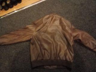 XXL Leather Jacket black