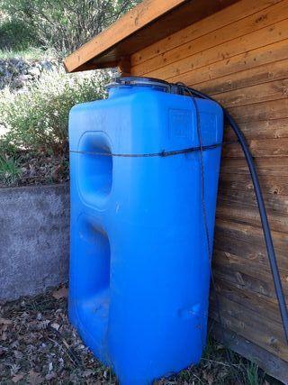 depósito de agua potable