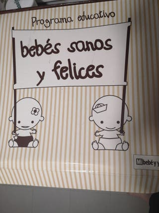 bebés sanos y felices