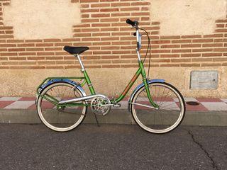 Bicicleta de paseo clásica Rabasa Derbi