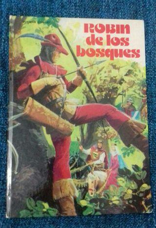 Libro Robin de los Bosques - 1977 Editorial Fher