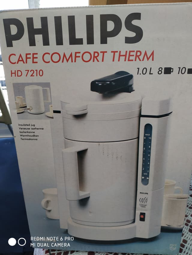 Cafetera Philips Comfort Therm