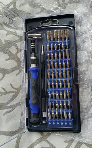 54 Puntas de destornillador magnéticas