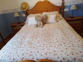 Dormitorio matrimonio rústico