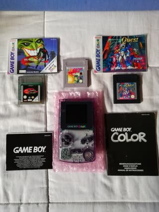 Game Boy Color con juegos
