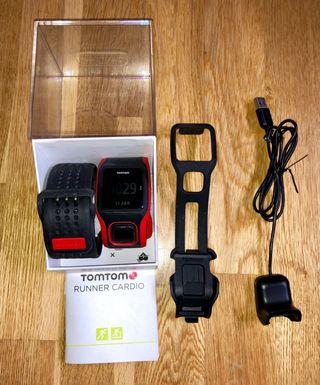 RELOJ GPS TOMTOM RUNNER CARDIO + ACCESORIOS