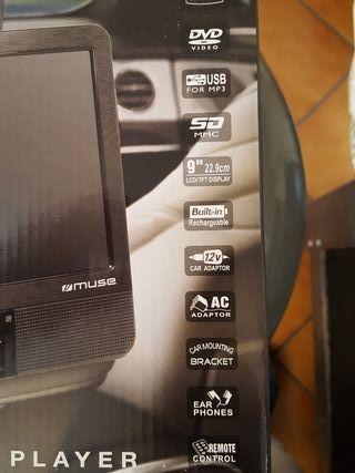 reproductor DVD portátil para coches