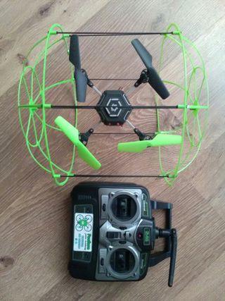 Dron con mando para piezas