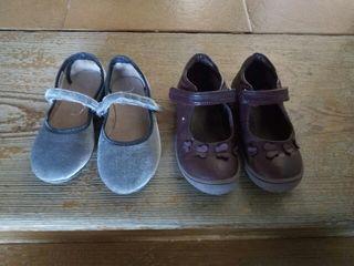 Dos pares zapatos niña talla 28