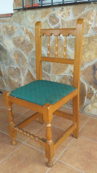 sillas de mdera