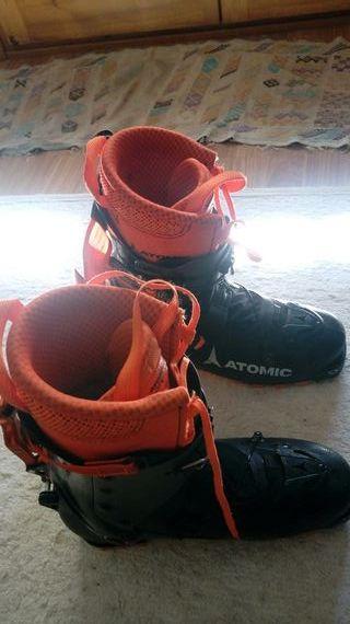 botas esqui travesia atomic backland Carbon