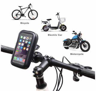 Soporte Móvil Moto/Bici Impermeable 360Grados