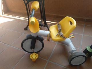 Bicicleta de tres ruedas