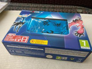 Nintendo 3ds Xl edicion especial pokemon azul.