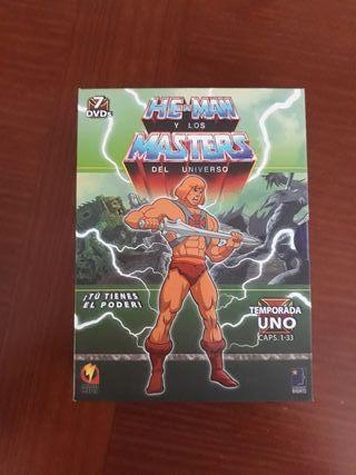 MASTERS DEL UNIVERSO DVD
