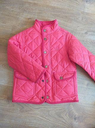 Abrigo rojo Benetton