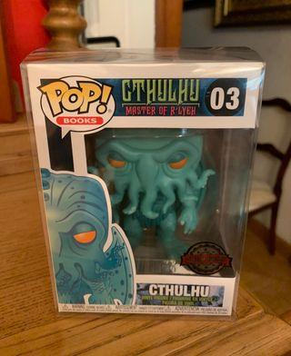 Figura cthulhu lovecraft funko pop esclusive