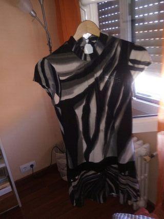vestido corto talla M