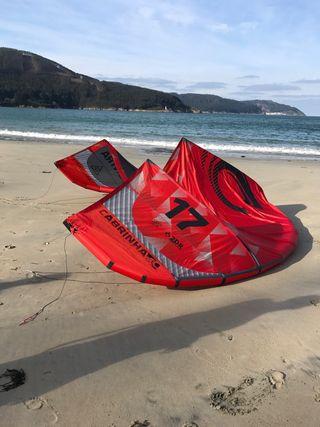 Kitesurf Cabrinha contra 17 m