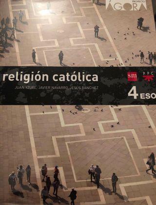 Libro de religión para 4 de la ESO