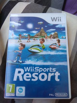 Videojuejo Wii Sports Resort